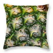 Ripe And Green Throw Pillow