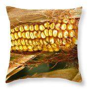 Ripe Corn Throw Pillow