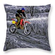 Rippin' Throw Pillow