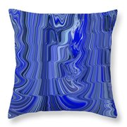 Ripple Abstract Throw Pillow