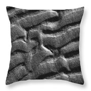Ripples Disrupted Throw Pillow