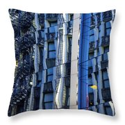 Ripples In Glass Throw Pillow