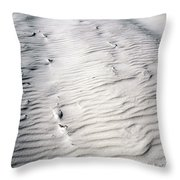 Ripples In The Sand Throw Pillow