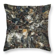 Ripples Throw Pillow