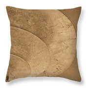 Ripples Of The Ceiling Throw Pillow