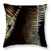 Ripples Of The Sound Throw Pillow