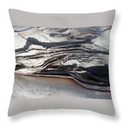 Ripples Of Waves Throw Pillow