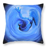 Rise Above And Share Your Light Throw Pillow