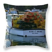 Rise And Shine Throw Pillow