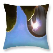 Rise And Shine From Dullness Throw Pillow