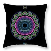 Rising Above Challenges Throw Pillow