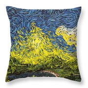 Rising Above Throw Pillow