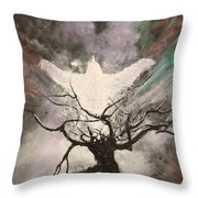 Rising From The Ash Throw Pillow