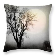Rising In The East Throw Pillow