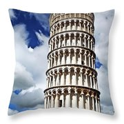 Rising Into The Tuscany Sky Throw Pillow