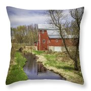 Rising Star Mill Throw Pillow