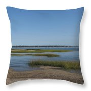 Rising Tide Throw Pillow