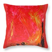 Rising Up I Throw Pillow