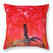 Rising Up II Throw Pillow