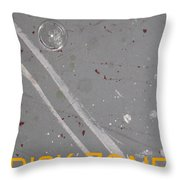 Risk Zone Throw Pillow