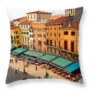 Ristorante Olivo Sas Piazza Bra Throw Pillow