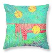 Rita's Meadow Throw Pillow