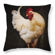 Rita's Rooster Throw Pillow