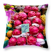 Ritaya Fruit - Mercade Municipal  Throw Pillow