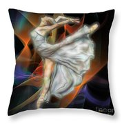 Rite Of Spring - Square Version Throw Pillow