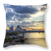 River City - D008587 Throw Pillow