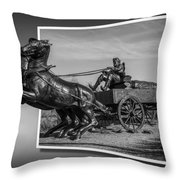 River Crossing 2 Throw Pillow