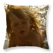 River Dip Throw Pillow