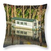 River Front 2 Sacramento Throw Pillow