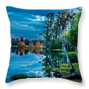 River Hdr Throw Pillow