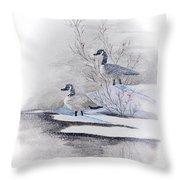 River Landing Throw Pillow