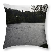River Ness Near The Ness Islands In Inverness In Scotland Throw Pillow
