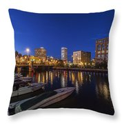 River Nights Throw Pillow
