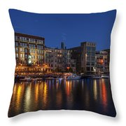 River Nights II Throw Pillow