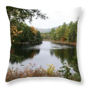 River North Conway Throw Pillow