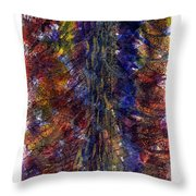 River Of Emotions Throw Pillow