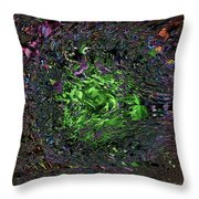 River Of Fate Throw Pillow