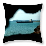 River Princess Throw Pillow