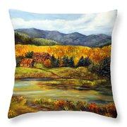 River Ranch Throw Pillow