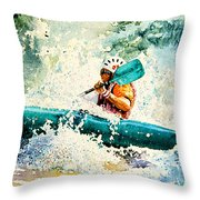 River Rocket Throw Pillow