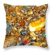 River Rocks 10 Throw Pillow
