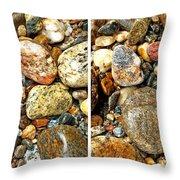 River Rocks 15 In Stereo Throw Pillow