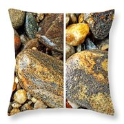 River Rocks 16 In Stereo Throw Pillow