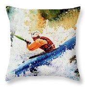 River Rush Throw Pillow