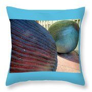 River Stones - New Orleans La Throw Pillow