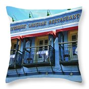 Riverboat Landing 0769 Throw Pillow
